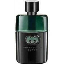 GUILTY BLACK by Gucci 3.0 / 3 oz EDT Cologne for Men NEW tester WITH CAP