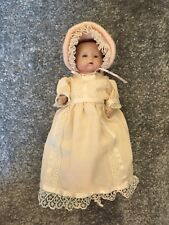 "Antique 1924 Bisque Head & Body Baby Doll 7"" Beautiful Small Vintage VERY RARE"