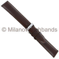 20mm Morellato Brown Padded Genuine Italian Oil Leather Mens Watch Band XL 969