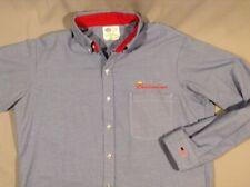 "Authentic Budweiser/Bud Light beer distributor/driver shirt; neck 16.5""sleeve Xl"