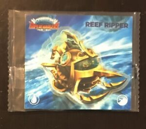 Skylanders Superchargers Reef Ripper Removable Wall Sticker Brand New