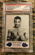 1986 Brown's Boxing EVANDER HOLYFIELD #62 PSA 9 Mint ROOKIE Card