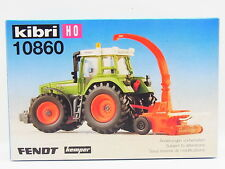 Lot 17630 Kibri ho 10860 Fendt tractor m. grünfutterernter 1:87 kit nuevo embalaje original