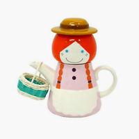 SUN ART JAPAN Japanese Sunart TEA FOR ONE Teapot Tea cup Set ANNE GIRL Boxed