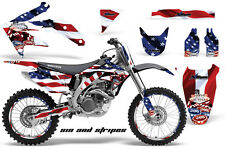 Honda CRF 450R Graphic Kit AMR Racing # Plates Decal Sticker Part 05-08 SNS