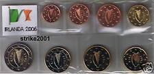 Euro IRLANDA 2006 - 8 PZ FDC in Blister -