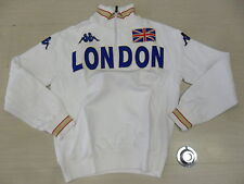 1266 TG. S FELPA LONDON LONDRA JACKET SWEAT TOP ITALY KAPPA EROI GIACCA