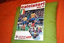 """ALBUM CALCIATORI PANINI 1976-77 RISTAMPA DE """"L'UNITA'"""""""