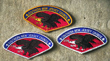 SOUTHERN NEW JERSEY COUNCIL 1776-1976 CSP- Complete Set of 3: S-1, S-2, S-3