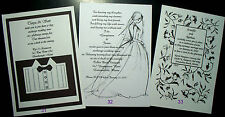 50 BLACK AND WHITE ANY COLOR INVITATIONS MANY DESIGNS CUSTOM PERSONALIZED 4 U
