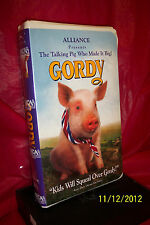 Gordy (VHS, 1995) BRAND NEW FACTORY SEALED