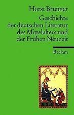 Geschichte der deutschen Literatur des Mittelalters im Ü...   Buch   Zustand gut
