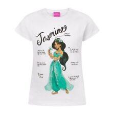 T-shirts et débardeurs multicolores Disney à longueur de manches manches courtes pour fille de 2 à 16 ans