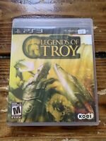 Warriors: Legends of Troy (Sony PlayStation 3, 2011) PS3 CIB Complete TESTED
