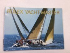 Manual Book English 600.06 Rolex Yacht-Master Booklet Owners Instruction