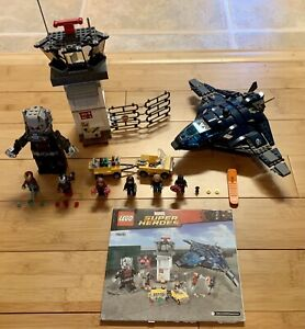 LEGO 76051 Marvel Super Hero Airport Battle, Complete, Used, No Box