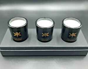 Chanel Candles 3x Set Scented Bougies