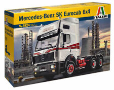 Italeri Mercedes-Benz SK Eurocab 6x4 LKW Truck 1:24 Bausatz Model Kit Art 3924
