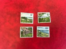 NORFOLK ISLAND 1962-4 MINT HINGED 1964 SET KINGSTON SLAUGHTER BAY THE ARCHES