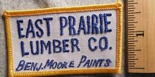 EAST PRAIRIE LUMBER COMPANY PATCH (CONSTRUCTION, HARDWARE)
