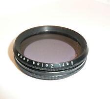 """Carl ZEISS JENA/49 mm filtro polarizzante """"BERNOTAR M49"""" Filtro Polarizzatore Lineare"""