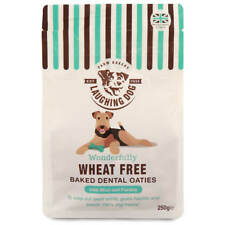 Laughing Dog Wheat Free Dental Oaties With Mint 250g (Pack of 4)