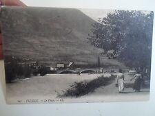 Rare Vintage Postcard VIZILLE LE PIAGE LL Series 245 Franked & Stamped 1929