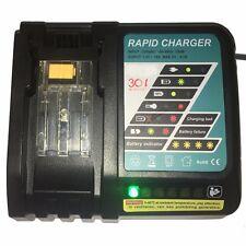 DC18RA Rapid Charger for Makita BL1860 BL1830 1815 1840 1430 Battery 14.4V-18V