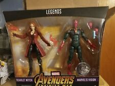 Marvel Legends TRU Exclusive Infinity War Scarlet Witch & Vision 2 Pack NIB