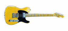 Keith Richards' Fender Telecaster Micawber Greeting Card, DL size