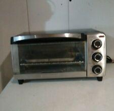 Black & Decker Space Maker Saver Counter Top Toaster Oven Broiler Bake Warm