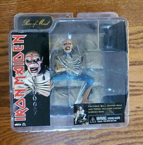 Iron Maiden Piece of Mind EDDIE action Figure 2010 NECA  Sealed Never opened!!!