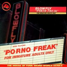 "Blowfly ""Porno Freak"" Cd 1996 Weird World Records Hot Productions"