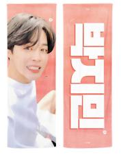 BTS Jimin 2020 Reflective Slogan Official Bangtan Banner +Photo card + Ziplock