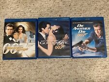Lot Of 3 Blu-Ray 007 James Bond Movies - Pierce Brosnan