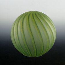 Art Deco Lady Lamp Globe in Striking Water Melon Pattern :Original
