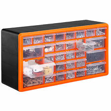 VonHaus 30 Drawer Parts Storage Organiser Cabinet Home Workshop Garage Tool Box