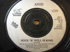 """ELECTRIC LIGHT ORCHESTRA - ROCK 'N' ROLL IS KING  7"""" VINYL"""