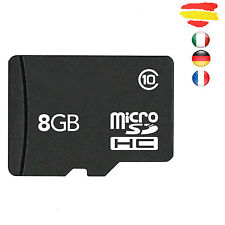 TARJETA MEMORIA CLASE 10 8GB MICROSD 8 GB MICRO SD SCHC Fabricación propia