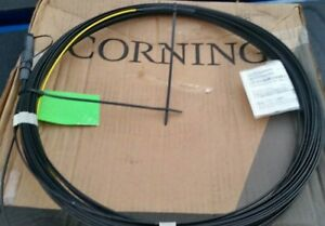 Corning 434401EB4R2100F-P Fiber Optic Cable, 100ft, Black