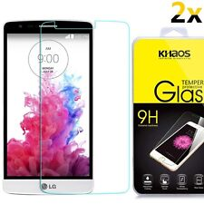 [2-Pack] Khaos HD Tempered Glass Screen Protector For LG Stylo 3 /Stylus 3 LS777