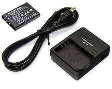 3.7v 1500mAh Li-ion Battery + Charger for Sanyo Xacti VPC-HD100 Xacti VPC-HD100R