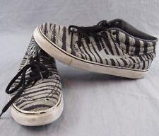Nike SB Stefan Janoski Shoes Size 10.5 Mid Premium Gray Skate Athletic 642061