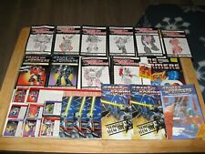 Transformers G1 Paper Lot Instruction Booklets and Teck Specs & Other Pamphlets