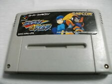 Nintendo Super Famicom Rockman & Forte Megaman SNES SFC Japan