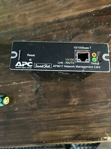 APC UPS: AP9617 Network Management Card Used