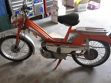 VINTAGE 1976 ORANGE MOTOBECANE MOBYLETTE MOPED ~ BEAUTIFUL CONDITION!