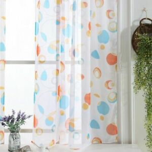 Tulle Curtains Window Treatments Dividers Sheer Voile Curtain Modern Home Panels