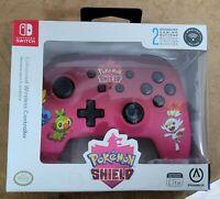 PowerA Enhanced Wireless Controller Nintendo Switch Pokemon Shield Pink Lite New