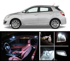 2009 - 2013 Toyota Matrix Premium White LED Interior Package (6 Pieces)